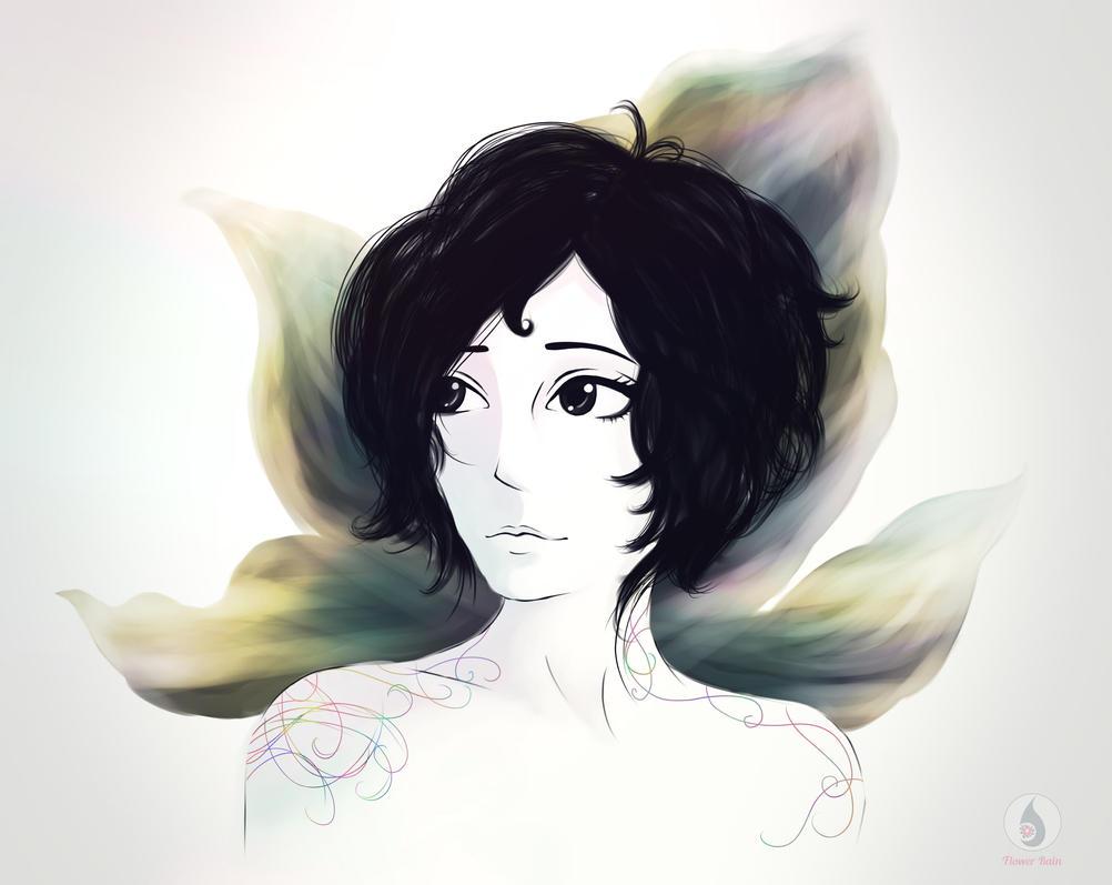 the portrait as a gift by Hikariuselen