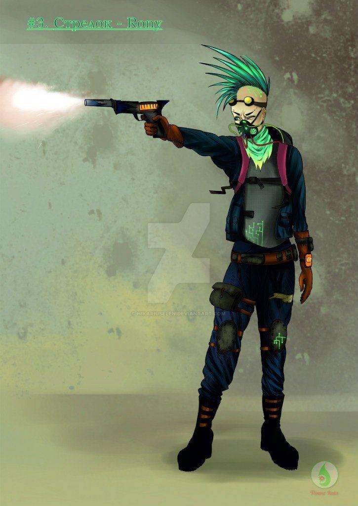 shooter Rony by Hikariuselen