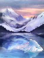 The Eternal Cold of the Ancient Peaks by Sabretooth2611