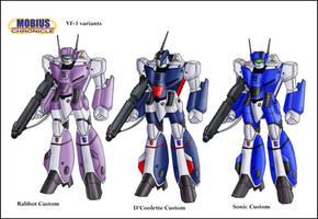 Mobius Chronicle:VF-1 variants