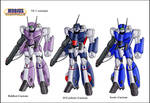 Mobius Chronicle:VF-1 variants