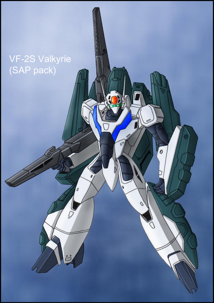Macross 2: VF-2S Valkyrie by zeiram0034