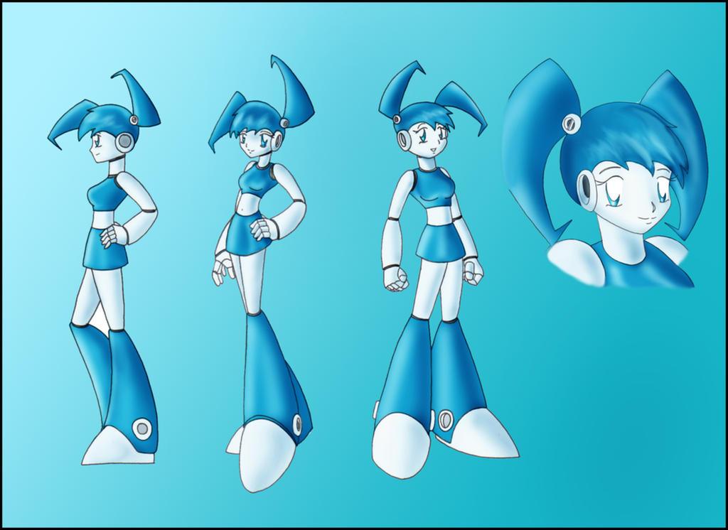 XJ9 'Jenny' character sheet by zeiram0034