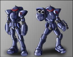 Sonic Satam: Swatbot Mk2