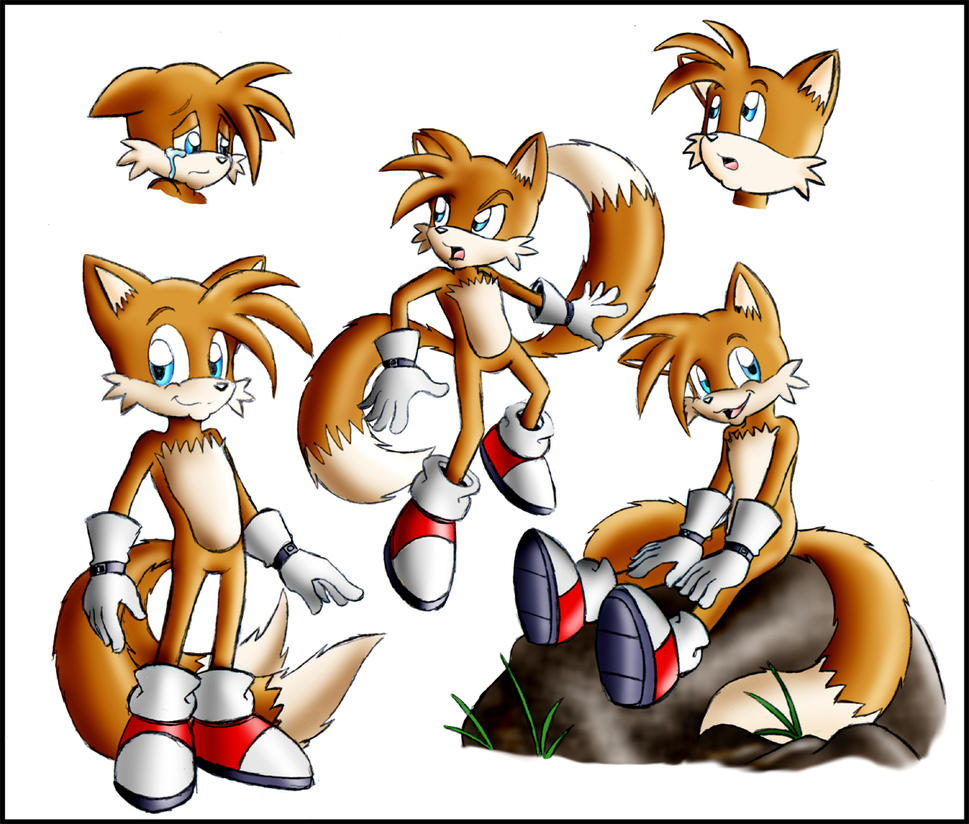 Miles Tails Prower: Miles 'Tails' Prower Doodles By Zeiram0034 On DeviantArt