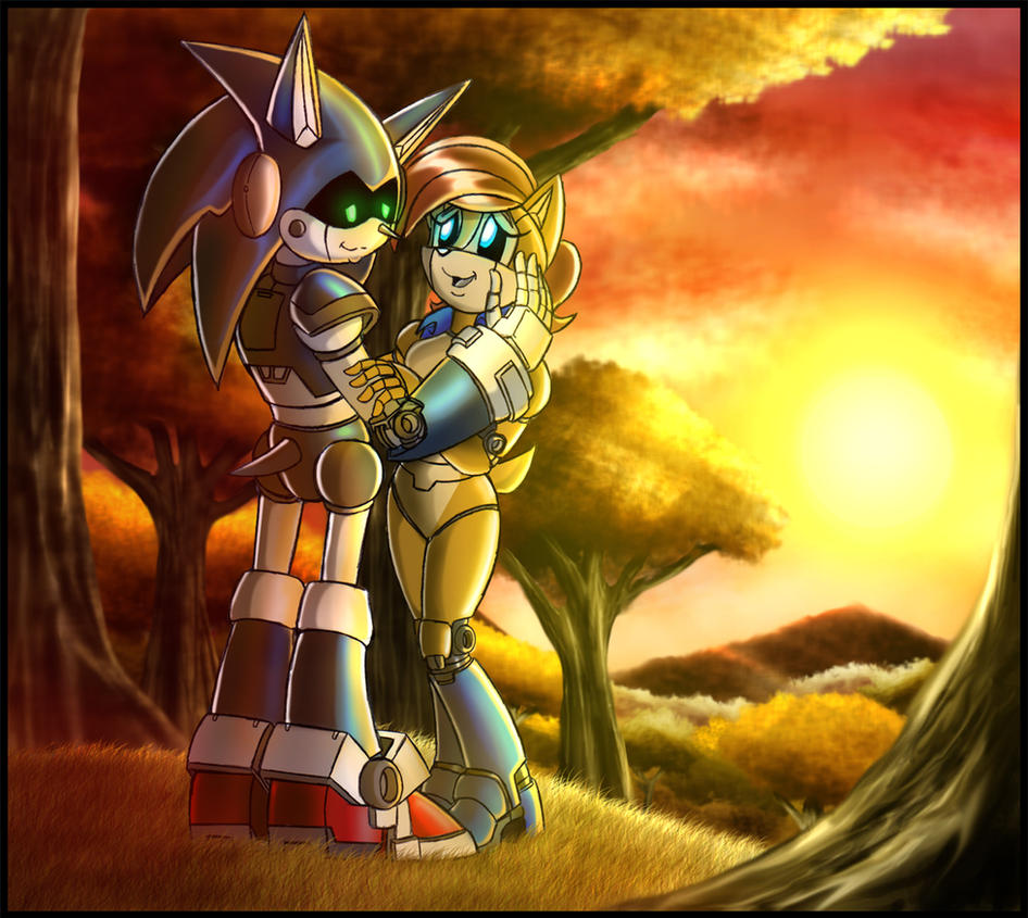 Sonic SATAM: Beautiful Sunset by zeiram0034
