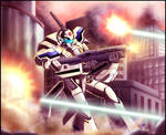 Macross: Stand your ground