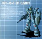 RGM-79-N GM Custom Profile