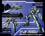 VF-25 Messiah Variable Fighter Profile