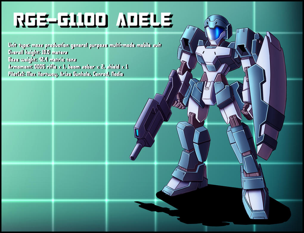 RGE-G1100 Adele Profile by zeiram0034