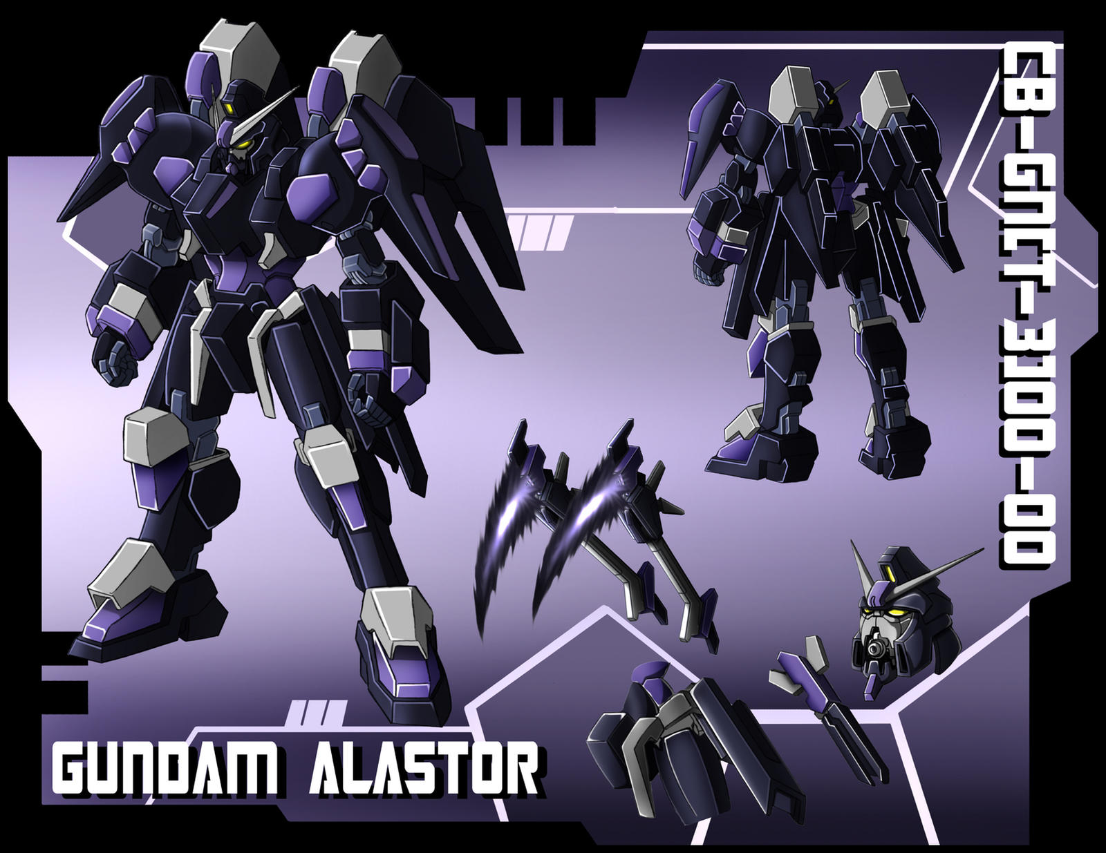 Commission: Gundam Alastor by zeiram0034