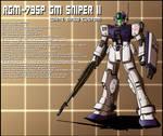 RGM-79SP GM Sniper II white dingo custom profile