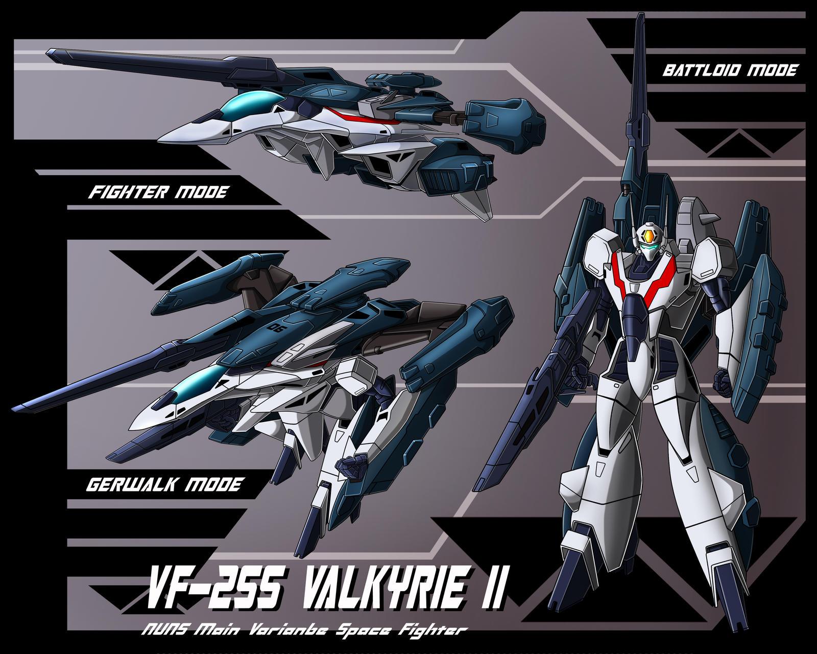 VF-2SS Valkyrie II profile by zeiram0034