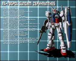 RX-78GP01 Gundam Zephyranthes profile by zeiram0034