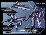VA-1SS Metal Siren Profile