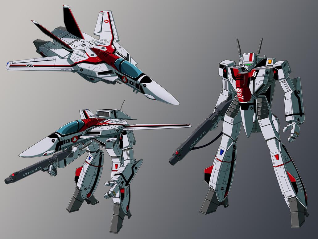 VF-1J hikaru custom profile WIP by zeiram0034
