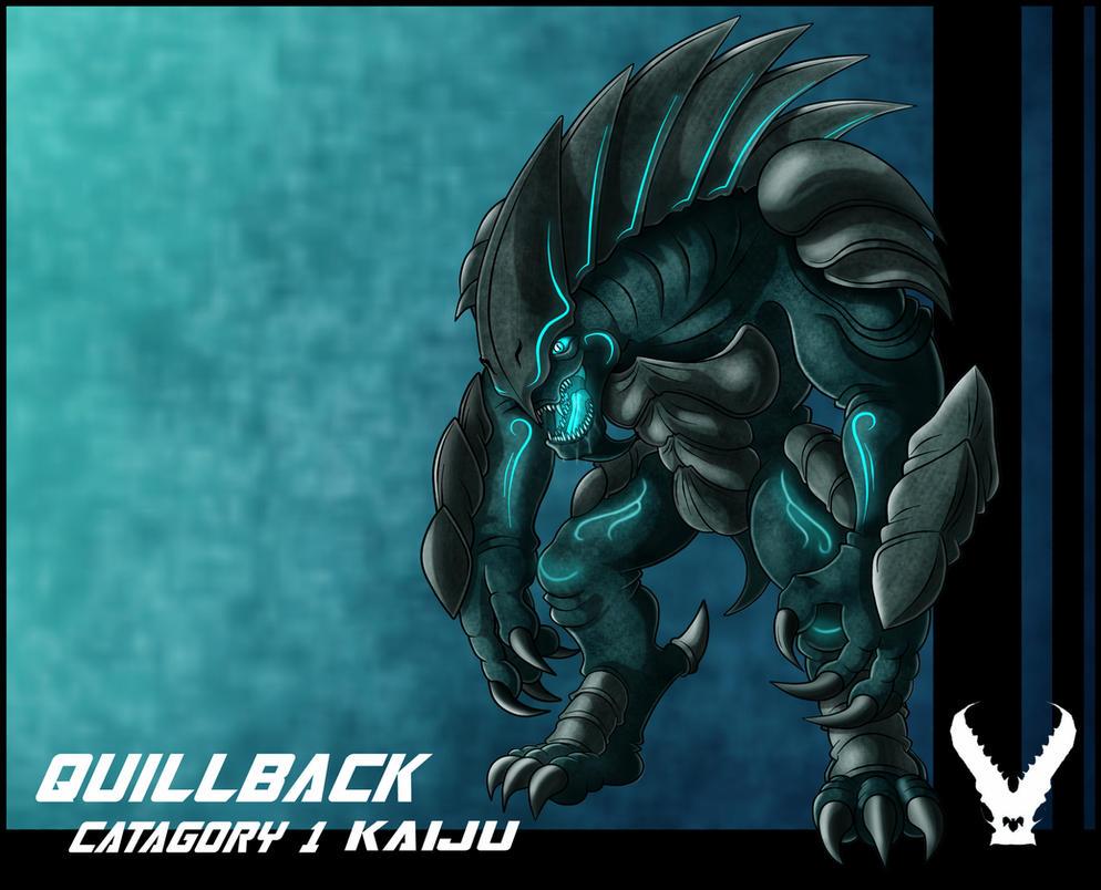 Kaiju Quillback by zeiram0034