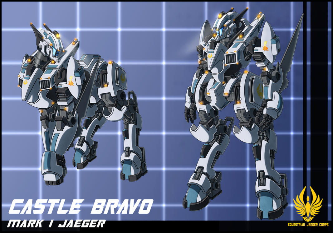 EJC jaeger Castle Bravo by zeiram0034