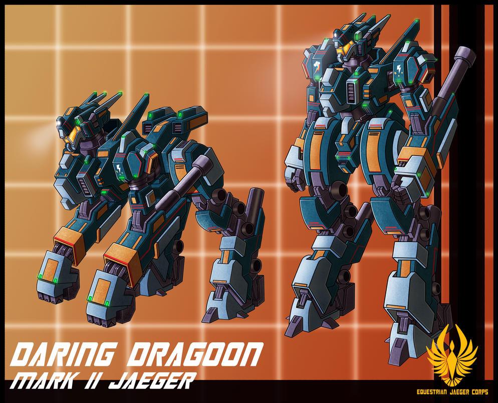 EJC jaeger Daring Dragoon by zeiram0034