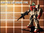 RGM-79GM[G] Ground type profile