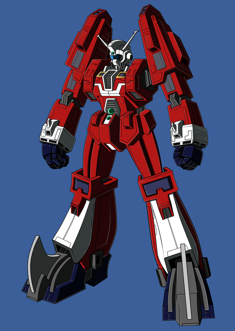 Ideon redesign WIP by zeiram0034