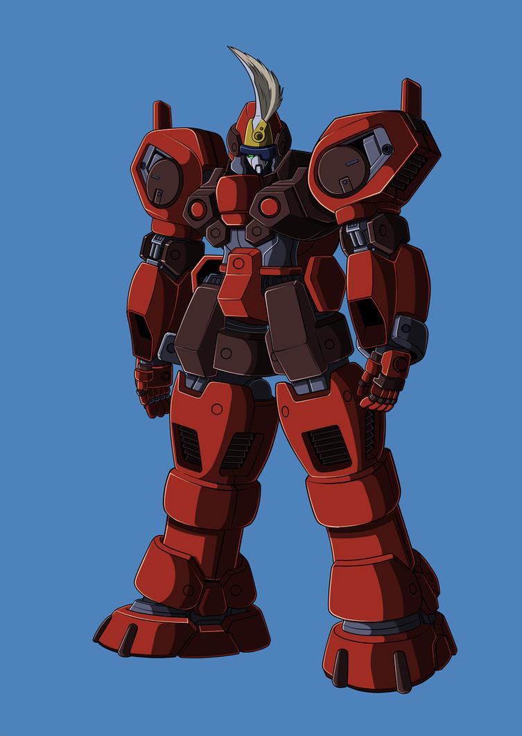 Xenogears: Brigadier WIP by zeiram0034
