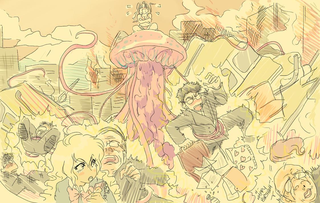 Birthday Attack by Maki-Ubermach