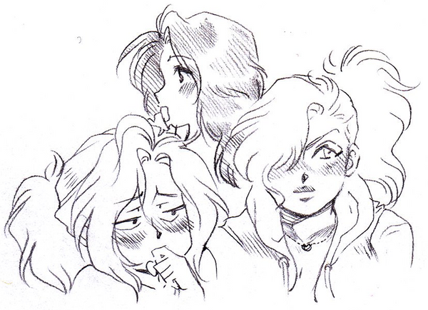 Mirakuru Faces by Maki-Ubermach