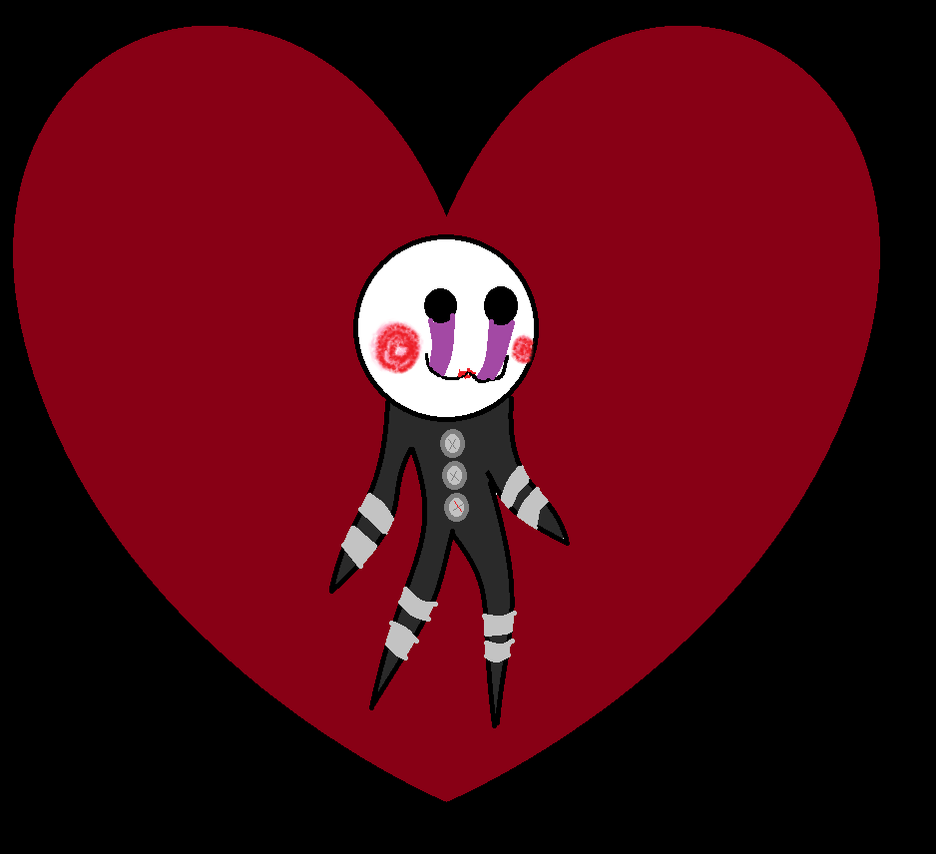 NO BASE USED: Chibie of The Puppet Loves you by Beckyboo94s