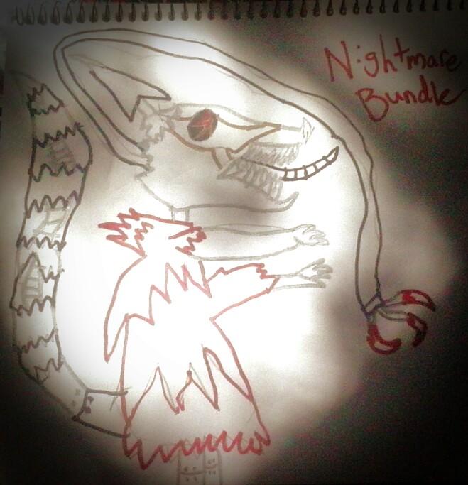 Nightmare Bundle the Raccoon by Beckyboo94s