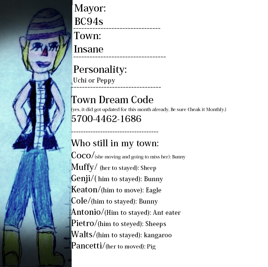 My Dream Code Aready update Free to visit! OwO by Beckyboo94s