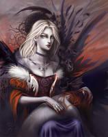 Portrait of Ethelinde Gudruna by oz-haver