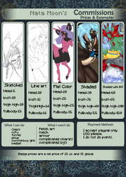 I AM OPEN FOR COMMISSIONS!