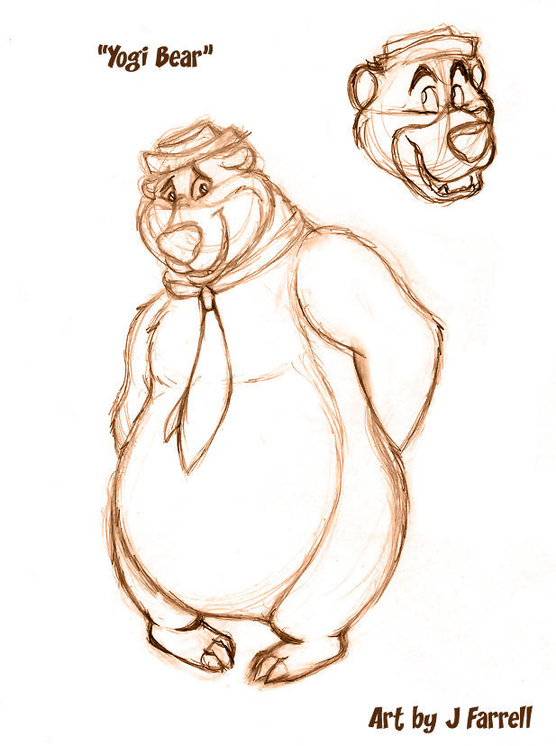 Yogi Bear Concept By Darkmane On Deviantart