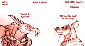 Rahzar and Splinter