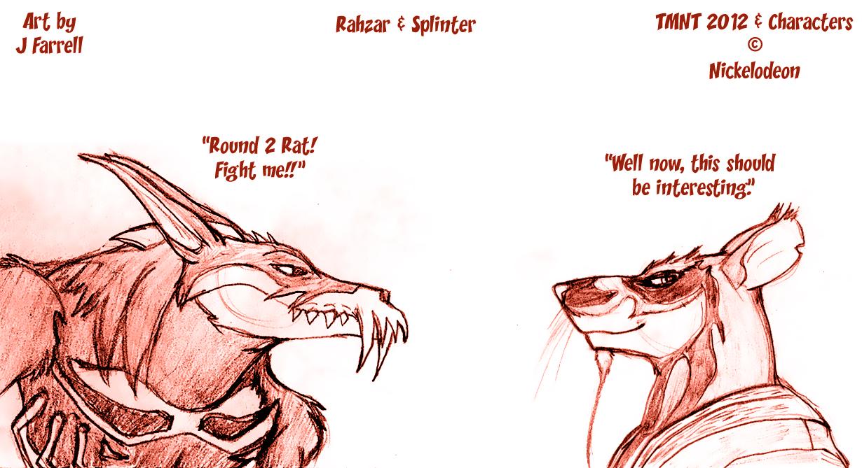 Rahzar And Splinter By Darkmane On Deviantart