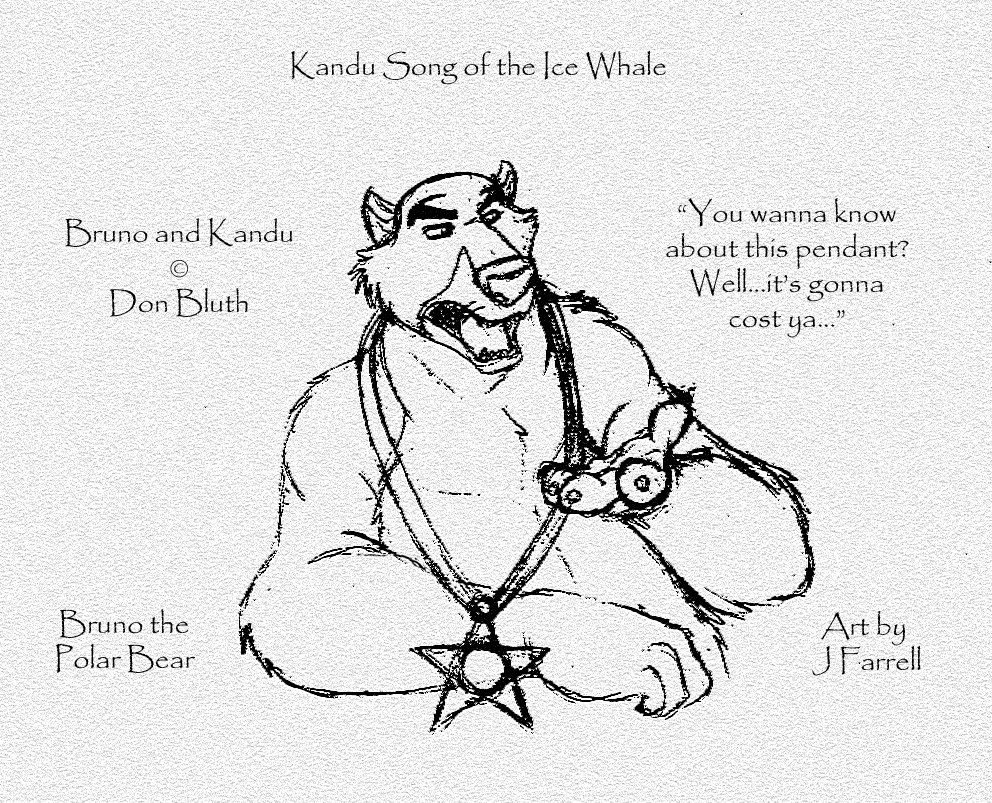 Bruno the Polar Bear from Don Bluth's Kandu 2 by darkmane