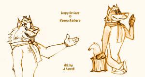 Sketch Saturday-Loopy De Loop