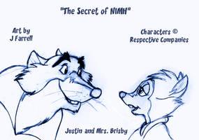 Sketch Wednesday--The Secret of NIMH