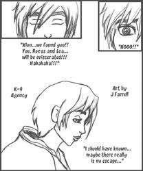 K-9 Agency Sketch Comic 2--Xion