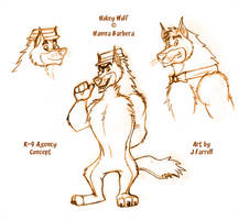 K-9 Agency Hokey Wolf Concept