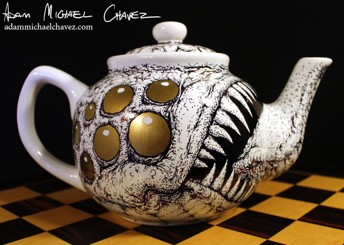 Illustrated Teapot Monster by Notorious-AMC