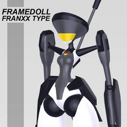 [VRChat MMD Model Download] Framedoll Franxx Type