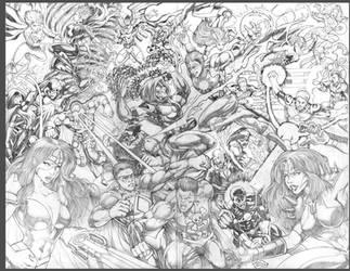 Commission:Legion Of Valor by johnbecaro