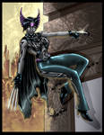 Colored: Huntress Noir