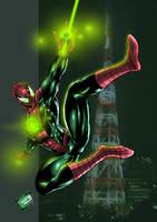 JAM Entry: Green Spiderman by johnbecaro