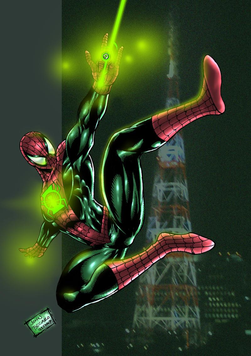 Part 14 / 9 JAM_Entry__Green_Spiderman_by_johnbecaro