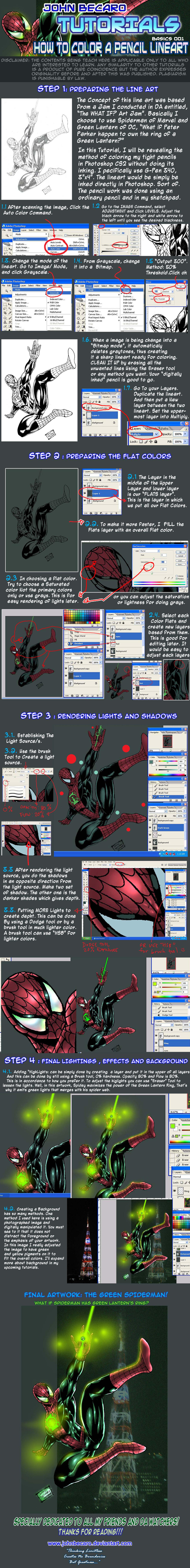 JAB COLORING TUTORIAL 001 by johnbecaro