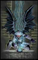 Commission:BlackThunderDragon by johnbecaro