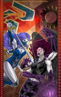 Commission:Fencer Vs Kali by johnbecaro